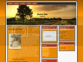 Wordpress Themes Golden Road
