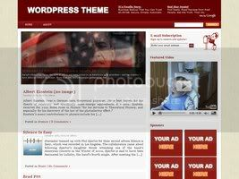 Wordpress Themes Red Star