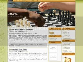 Wordpress Themes WP-Chess