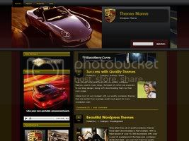 Wordpress Themes porsche Magazine