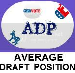 Average Draft Position
